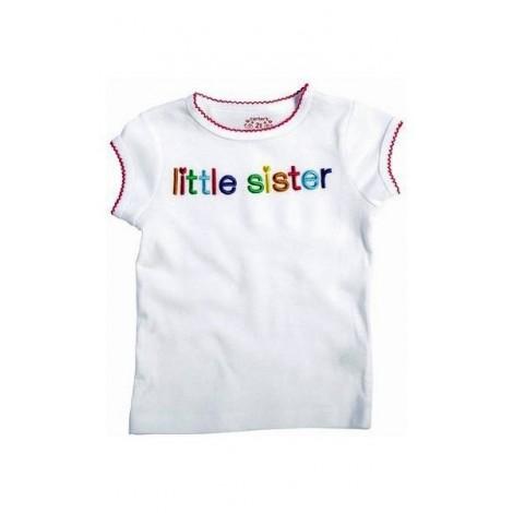 Carter's - White Little Sister T Shirt