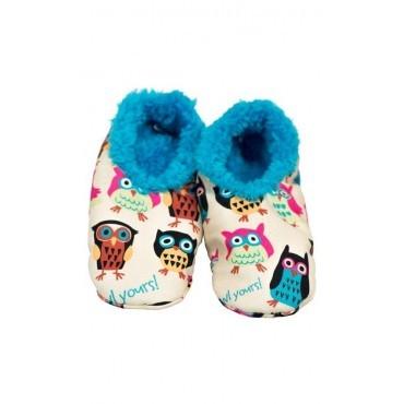 Lazyone - I'm Owl Yours Fuzzy Feet Slippers