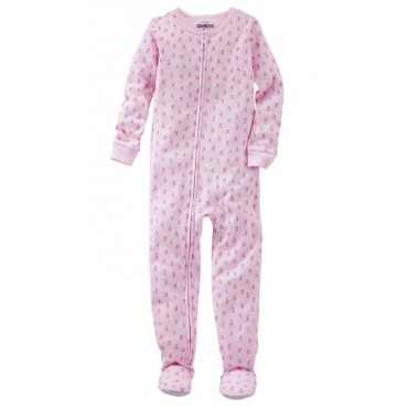 Osh Kosh - Girls Cotton Pink Onesie