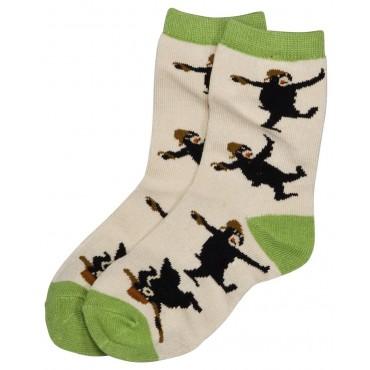 Boys - Dancing Bear Socks - 3 pair pack