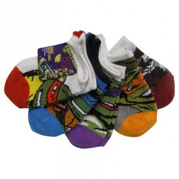 Childrens -Teenage Mutant Ninja Turtles Socks - 5 pairs