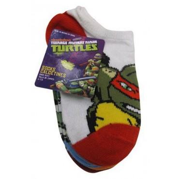 Childrens -Teenage Mutant Ninja Turtles Socks - 5 pairs