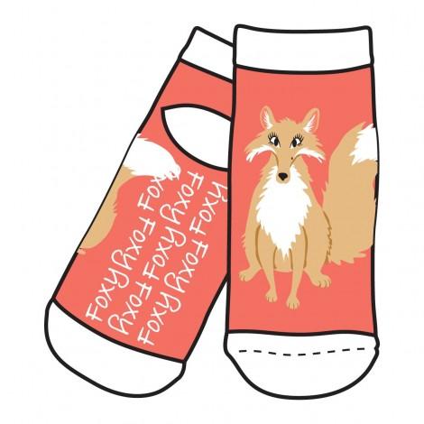 Womens - Slipper Socks  - Foxy