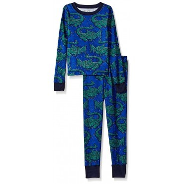 Boys - Blue Dragon Pyjamas - 100% Cotton
